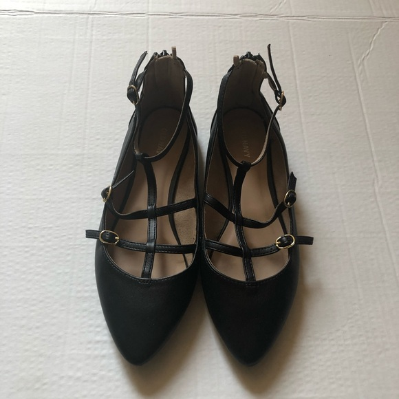 Old Navy Shoes - Old navy black flats woman's shoes size 9